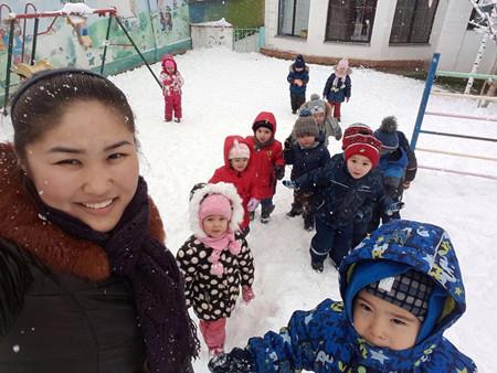 Детский сад в Алматы